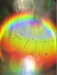 Diffraction rainbow