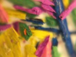 Shards of Pencil shapenings
